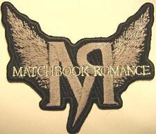 Matchbook Romance USA Patch/aufbügler # 1