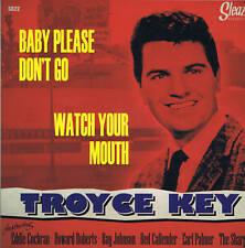 Troyce clave + Eddie Cochran-vigila Tu Boca/bebé por favor no vaya-Rockabilly