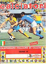 ALBUM CALCIATORI 1972 - 73, FIGURINE PANINI, RISTAMPA DE L'UNITA', SOLO STAMPA