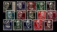 DDR 1952/1953 Nr 327-341 gestempelt (93607)