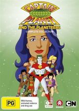 Captain Planet And The Planeteers (DVD, 2017, 18-Disc Set)
