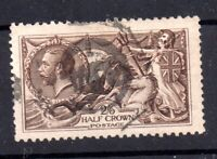 GB KGV 1913 2s 6d Waterlow Seahorse used SG400 WS21240