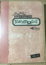 Sizzix eclips Cartridge - Tim Holtz Alterations Stamp2Cut No. 3 Neu OVP