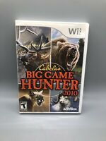 Cabela's Big Game Hunter 2010 (Nintendo Wii, 2009) Manual Included