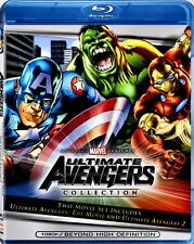 NEW BLU-RAY - ULTIMATE AVENGERS the MOVIE + ULTIMATE AVENGERS 2 - DOUBLE FEATURE