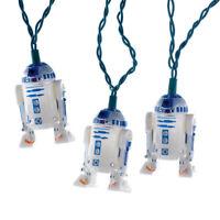 Disney Star Wars R2D2 Christmas Light Set Kurt Adler 10 Count Light String