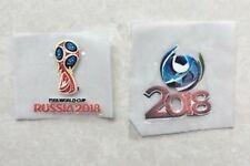 Set Of 2018 Russia World Cup Patch Badge Parche Toppa Pièce Flicken Remendo