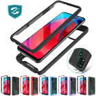 For Motorola Moto G Stylus 5G 2021 Case Clear Cover W/Built-in Screen Protector