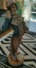 sehr alte antike Porzellan Figur,Bodenmarke,  Junger galanter Herr