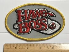 """Hawg Boss Fishing Lures Souvenir 5"""" Long Embroidered Patch"""