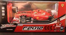 Ferrari/xformula/ferrari f2012/nuevo/en el embalaje original/a partir de 8/escala 1:24/incl. batería