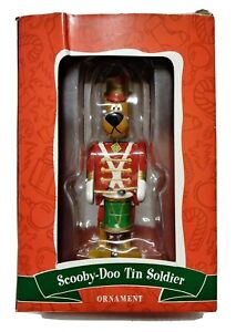 Warner Brothers Scooby-Doo Tin Soldier Christmas Ornament