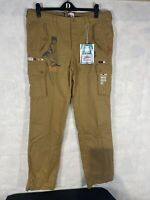 Mens Joe Browns Crazy Cargo Trousers. New Tagged Size 34 Long