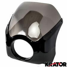 Headlight Fairing Screen Black For Victory Vegas 8-Ball Jackpot Ness Premium
