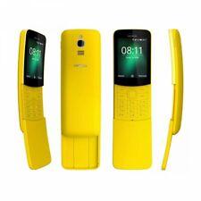 """NOKIA 8110 2.45"""" ITALIA Dual SIM Smartphone Android 4G YELLOW GIALLO"""