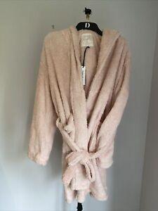 Debenhams Rabbit Shaggy Fleece Robe Uk 16-18