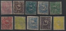 Early tibet faux/faux timbres