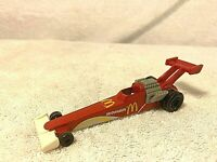 1993 McDonald's Happy Meal Toy Mattel Hot Wheels Car Red Dragster Race L1