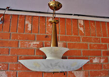 Salvaged 50's VTG Mid Century Retro LIGHTOLIER - DINELIER Ceiling Light Fixture