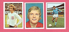 Lot of 3 1972 Williams Forlags Football Star Soccer Cards from Sweden D