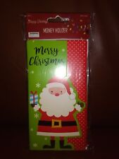 """""""Merry Christmas"""" Gift Card Money Holders With Envelopes"""