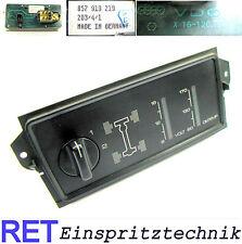 Konsole VDO 857919219 Allradzuschaltung Voltmeter Öltemperatur Audi Quattro