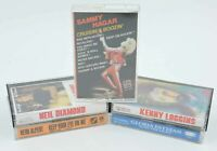 Lot of 5 cassette tapes Sammy Hagar Kenny Loggins Niel Diamond Gloria Estefan