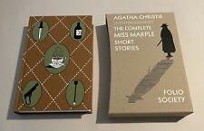 Folio Society Agatha Christie Complete Miss Marple Short Stories in Slipcase