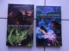 lot fantasy Larochelle L' ordre des ELDILS 1 et 2 renaissance / entre 2 mondes