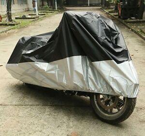 295x110x140cm Waterproof Motorcycle Cover Street Bikes Outdoor Protection Rain