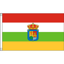 La Rioja Flag 5Ft X 3Ft Spain Spanish Region Regional Banner With 2 Eyelets New