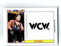 WWE Sting 2016 Topps Heritage All-Star WCW Patch Relic Card SN 240 of 299