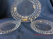 Set aus 3 Tellern Nachtmann Glasteller Platzteller Dancing Stars Bossa Nova