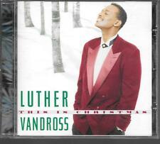 CD ALBUM 10 TITRES--LUTHER VANDROSS--THIS IS CHRISTMAS--1995