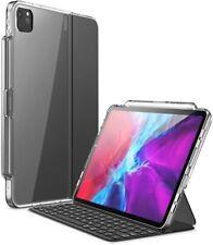 For Apple iPad Pro 11 inch 2020/2018, i-Blason Halo Clear Case Pen Holder Cover
