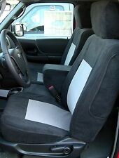 2010-2012 Ford Ranger 60/40 Seat Custom Fit Seat Covers Waterproof Black/Gray