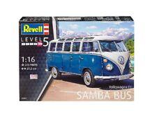 Volkswagen VW Typ 2 T1 Samba Bus 1:16 Plastic Model Kit 07009 REVELL
