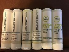Lot Of 6 Paul Mitchell Travel Size ,Awapuhi Shampoo, Conditioner , Body Wash