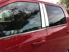 Dodge Ram  Crew Cab Window Sill and Pillar Post combo 8 PC Stainless Steel