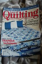 Fons & Porter's Love of Quilting Magazine, Jan/Feb 2008