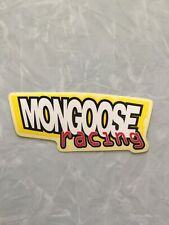 Mongoose Racing Sticker
