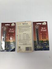 Tetra Pond Koi Pond Thermometer Lot Of 3