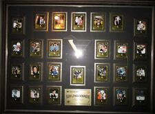 "Mario Lemieux 1996-97 Donruss Scrapbook 28x40"" Framed 25 Card Set Signed Card"