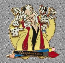 Cruella's Puppies Pin AC - Happiest Pin Celebration On Earth - DISNEY Pin LE 500