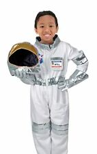 Childrens Boys Astronaut Spaceman NASA Uniform Fancy Dress Outfit Costume 3-6 yr