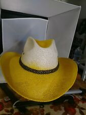 Air Brushed Ladies Western Hat