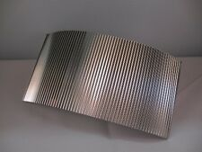 Reality In Scale 1:35-1:72 Corrugated Aluminum Sheet 20X10cm #ACC004