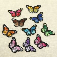 Shinny Butterfly Sewing Patch Applique Fabric Badge Cloth Paste DIY Decorate