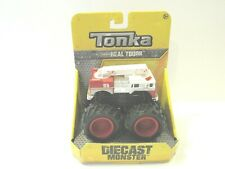 NEW Tonka Real Tough Diecast Monster Fire Truck Fun Kid Toy Birthday Xmas Gift