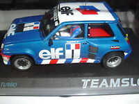 TEAM SLOT ref. 12003 renault 5 copa turbo  elf    Nuevo New 1/32